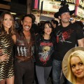 "Jessica Alba, Danny Trejo, Michelle Rodriguez, and director Robert Rodriguez arrive at a screening ""Machete"" at the Orpheum Theater in Los Angeles on August 25, 2010 / Lindsay Lohan"