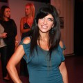 "Teresa Giudice of Bravo's ""The Real Housewives of New Jersey"" attends rehersals for ""My Big Gay Italian Wedding"" at St. Luke's Theater in New York City on August 26, 2010"