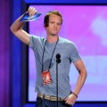 A casual Neil Patrick Harris goofs around during rehearsals for the 62nd annual Primetime Emmy Awards on August 28, 2010 in Los Angeles, Calif.