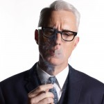 "John Slattery as Roger STerling in ""Mad Men"" Season 4"