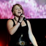 "Crystal Bowersox performs at the ""American Idol Live! Tour"" at the Staples Center in Los Angeles on August 13, 2010"