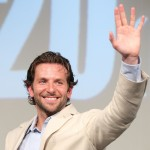 "Bradley Cooper waves to fans at the Japan premiere of ""The A-Team"" at Differ Ariake in Tokyo, Japan on August 16, 2010"