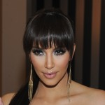 Kim Kardashian at an event for  her fragrance line at Perfumania in Camarillo, Calif., on August 20, 2010