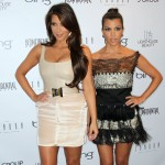 Kim Kardashian and Kourtney Kardashian step out at Los Angeles Confidential Magazine's Fall Fashion issue celebration at The London West Hollywood on August 25, 2010