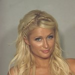 Paris Hilton&#8217;s mug shot after being arrested in Las Vegas on August 27, 2010