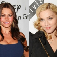 """Modern Family's"" Sofia Vergara and Madonna"