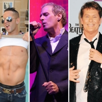 "Michael ""The Situation"" Sorrentino, Michael Bolton and David Hasselhoff"