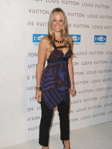 Molly Sims attends the Opening Of Louis Vuitton Santa Monica To Benefit Heal The Bay at the Annenberg Community Beach House in Santa Monica, Calif., on August 19, 2010