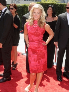 Chelsie Hightower arrives at 62nd Primetime Creative Arts Emmy Awards at the Nokia Theatre L.A. Live on August 21, 2010 in Los Angeles, California.