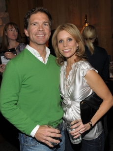 Paul Young and Cheryl Hines attend the Pro-Am Ski Race at Juma Entertainment's 18th Deer Valley Celebrity Skifest, Deer Valley, Utah, December 5, 2009