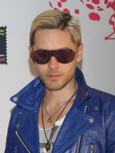 Thirty Seconds to Mars lead singer Jared Leto attends the 2010 MTV World Stages press conference at the W Mexico City  in Mexico City on August 25, 2010