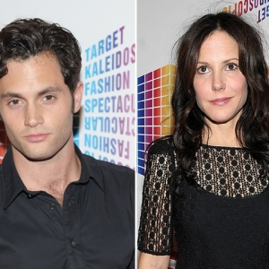 Penn Badgley &amp; Mary-Louise Parker Hit Target Fashion Event In New York