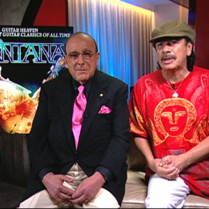 Carlos Santana & Clive Davis Talk 'Guitar Heaven's' Star Collaborations