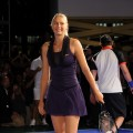 Maria Sharapova attends the Nike Tennis Primetime Knockout event at Pier 54 on August 25, 2010 in New York City
