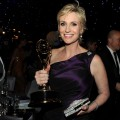 Jane Lynch attends the 62nd Annual Primetime Emmy Awards Governors Ball held at the Los Angeles Convention Center in Los Angeles on August 29, 2010