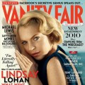 Lindsay Lohan appears on the October 2010 cover of Vanity Fair