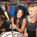 Jessica Szohr celebrates her birthday in New York City on August 31, 2010