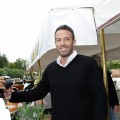 Ben Affleck is all smiles at the 67th Venice Film Festival in Venice, Italy on September 7, 2010