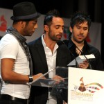 The musical group Camila announce the 11th annual Latin GRAMMY awards nominations at Avalon Hollywood, in Hollywood, September 8, 2010
