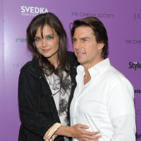 "Katie Holmes and Tom Cruise attend the Cinema Society screening of ""The Romantics"" at AMC Loews 19th Street East 6 Theater, NYC, September 7, 2010"