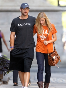Andy Roddick and Brooklyn Decker step out in NYC, August 29, 2010