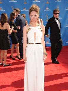 Rose Byrne arrives at the 62nd Annual Primetime Emmy Awards held at the Nokia Theatre L.A. Live in Los Angeles on August 29, 2010