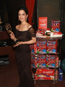 Archie Panjabi attends P.F. Chang's Home Menu Frozen Moments Gift Lounge backstage celebrating the 62nd Primetime Emmy Awards by On 3 Productions - Day 2 at Nokia Theatre L.A. Live on August 29, 2010 in Los Ange