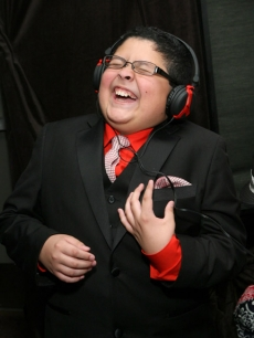 Rico Rodriguez attends P.F. Chang's Home Menu Frozen Moments Gift Lounge backstage celebrating the 62nd Primetime Emmy Awards by On 3 Productions - Day 2 at Nokia Theatre L.A. Live on August 29, 2010