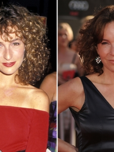 Jennifer Grey in 1987 (left) and in 2010 (right)