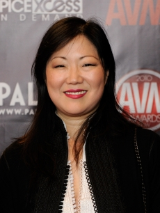 Margaret Cho arrives at the 27th annual Adult Video News Awards Show at the Palms Casino Resort, Las Vegas, January 9, 2010