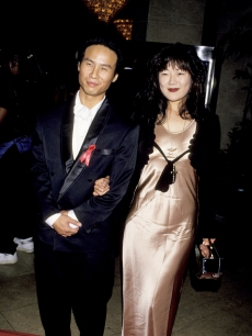 B.D. Wong and Margaret Cho in Beverly Hills, September 20, 1994