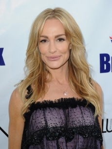Taylor Armstrong arrives at the 2nd Annual Genlux Britweek Designer Of The Year Fashion Awards And Show at Smashbox Studios in West Hollywood on May 8, 2010