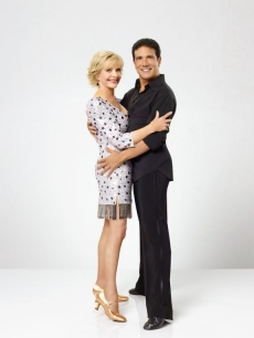 Florence Henderson and Corky Ballas in their cast shot for &#8220;Dancing with the Stars&#8221; Season 11