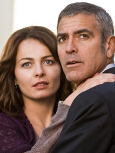 Violante Placido and George Clooney in Focus Features' The American