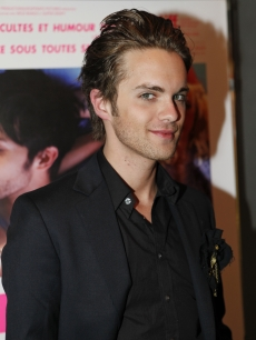 Thomas Dekker attends the &#8220;Kaboom&#8221; Paris premiere at UGC Cine Cite des Halles on in Paris, France, on September 6, 2010 