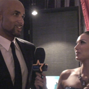 2010 Emmy Gift Lounge: Boris Kodjoe Is Undercover