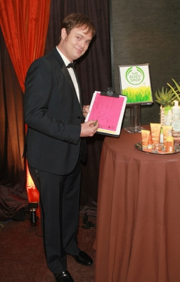 Rainn Wilson attends P.F. Chang's Home Menu Frozen Moments Gift Lounge backstage celebrating the 62nd Primetime Emmy Awards by On 3 Productions - Day 2 at Nokia Theatre L.A. Live on August 29, 2010