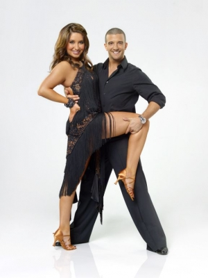 Bristol Palin and Mark Ballas in their cast shot for &#8220;Dancing with the Stars&#8221; Season 11