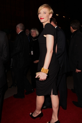 Cate Blanchett arrives at the 2010 Helpmann Awards at the Sydney Opera House in Sydney, Australia, on September 6, 2010