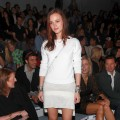 Leighton Meester attends the Michael Kors Spring 2011 fashion show during Mercedes-Benz Fashion Week at The Stage at Lincoln Center, NYC, September 12, 2010