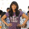 Jennifer Hudson at a Weight Watchers event at PS 111 Adolph S. Ochs School in New York City on September 15, 2010