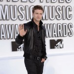 Justin Timberlake arrives at the 2010 MTV Video Music Awards at NOKIA Theatre L.A. LIVE in Los Angeles on September 12, 2010