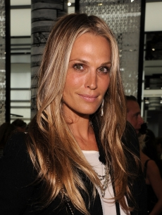 Molly Sims attends the reopening of the CHANEL SoHo Boutique at the Chanel Boutique Soho on September 9, 2010 in New York City