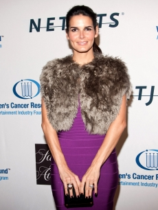 Angie Harmon attends An Unforgettable Evening Benefitting EIF&#8217;s Women&#8217;s Cancer Fund at Beverly Wilshire Four Seasons Hotel on January 27, 2010