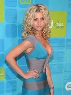 Aly Michalka attends the 2010 The CW Network UpFront at Madison Square Garden on May 20, 2010 in New York City