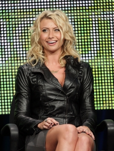 Aly Michalka speaks onstage during the 'Hellcats' panel during the 2010 Summer TCA Tour Day 2 at the Beverly Hilton Hotel on July 29, 2010 in Beverly Hills, California