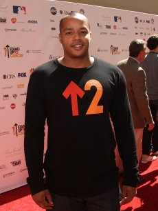 Donald Faison arrives at Stand Up To Cancer held at Sony Pictures Studios, Culver City, Calif., on September 10, 2010