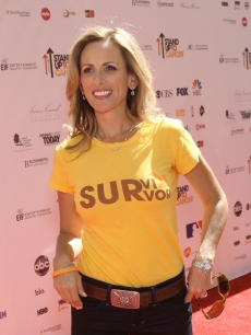 Marlee Matlin arrives at Stand Up To Cancer held at Sony Pictures Studios, Culver City, on September 10, 2010