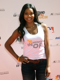 Gabrielle Union arrives at Stand Up To Cancer held at Sony Pictures Studios, Culver City, on September 10, 2010 