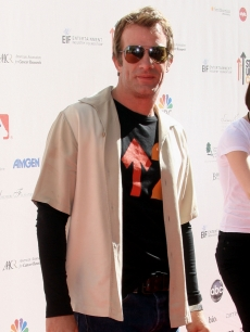 """Hung's"" Thomas Jane arrives at Stand Up To Cancer held at Sony Pictures Studios, Culver City, on September 10, 2010"